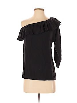 AKA New York 3/4 Sleeve Silk Top Size S