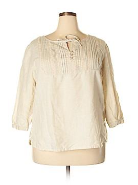 SONOMA life + style 3/4 Sleeve Blouse Size XL