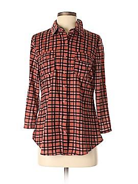 Eden & Olivia Long Sleeve Button-Down Shirt Size M