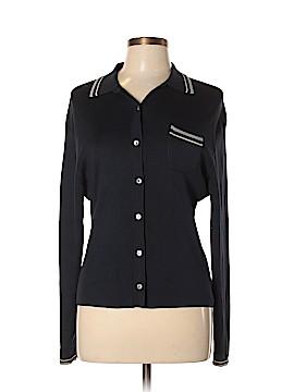 Petite Sophisticate Silk Cardigan Size L