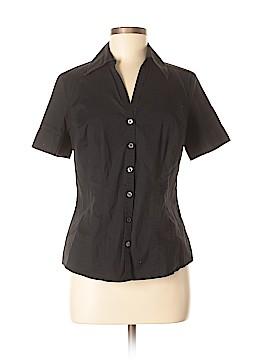 Ann Taylor LOFT Short Sleeve Button-Down Shirt Size 8