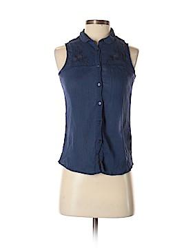 Jack Wills Sleeveless Button-Down Shirt Size 2