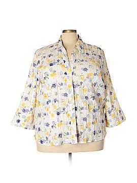 Joanna Long Sleeve Button-Down Shirt Size 3X (Plus)