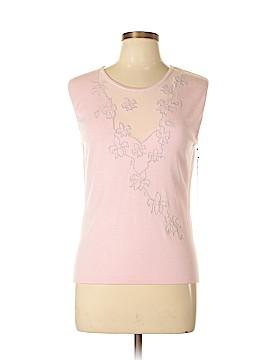 Vertigo Paris Sleeveless Silk Top Size XL