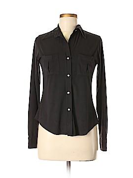 Mezzanine Long Sleeve Button-Down Shirt Size M