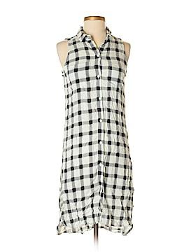Leith Sleeveless Button-Down Shirt Size XS