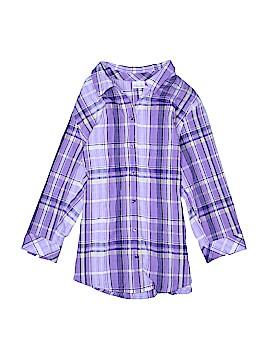 Kim Rogers 3/4 Sleeve Button-Down Shirt Size 20W (Plus)