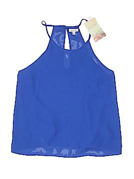 Lily White Sleeveless Blouse Size XL