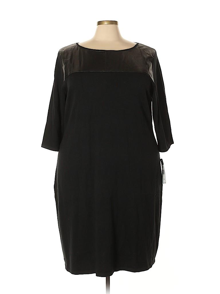 Chaps Women Casual Dress Size 3X (Plus)