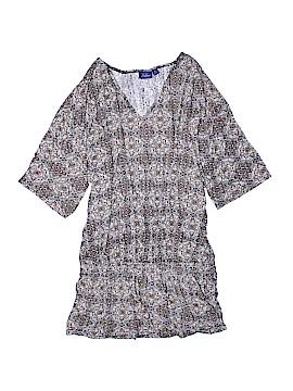 Great Northwest Indigo Short Sleeve Top Size 1X (Plus)