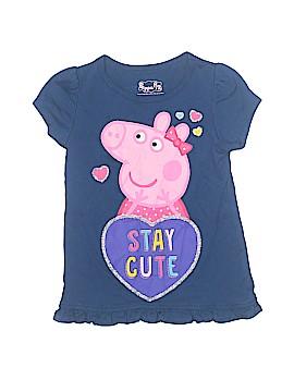 Peppa Pig Short Sleeve T-Shirt Size 5T