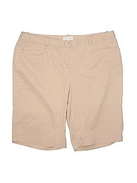 Talbots Outlet Khaki Shorts Size 16w