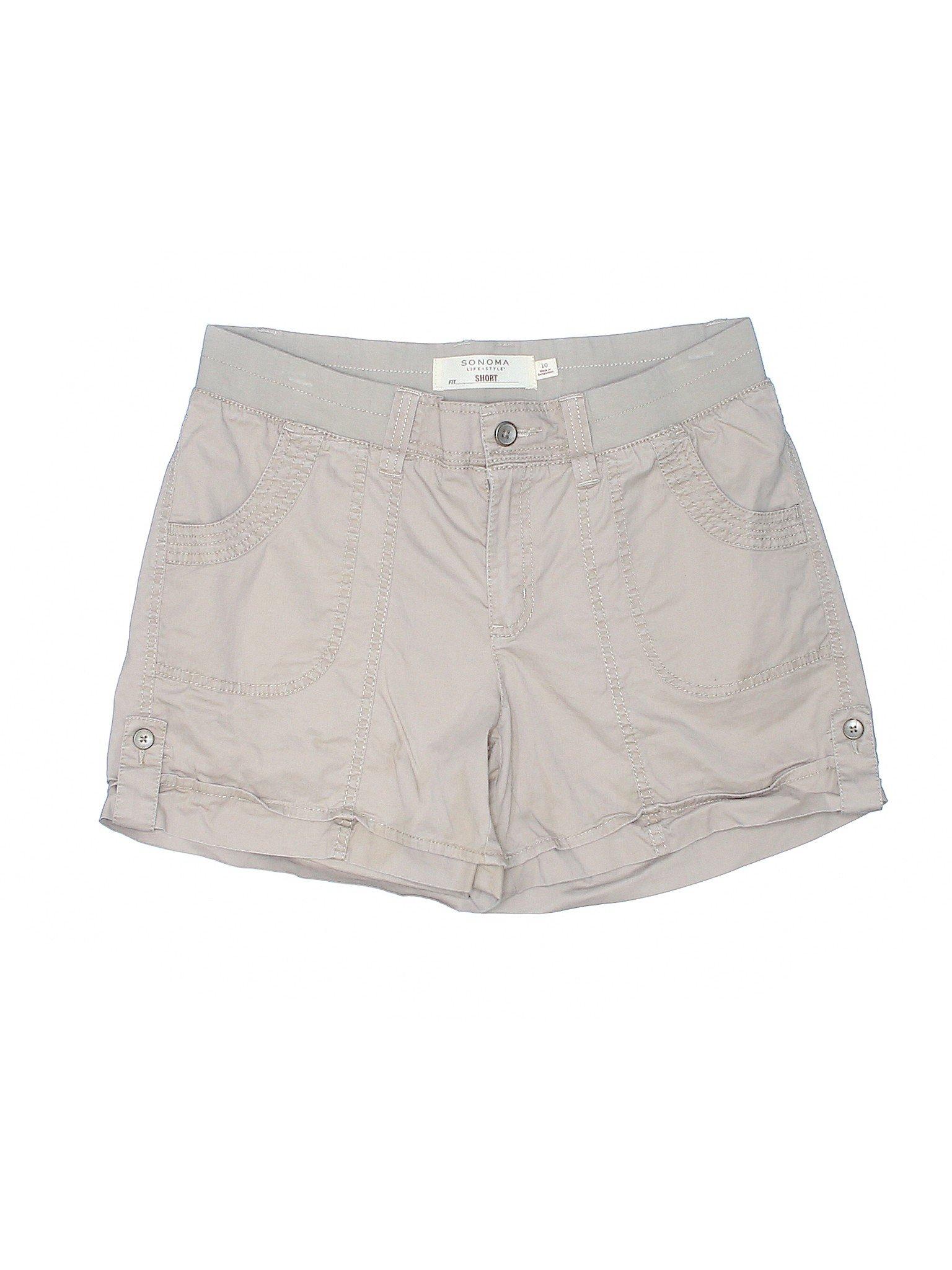 Shorts Boutique SONOMA Khaki style life dRrxn8qIwr