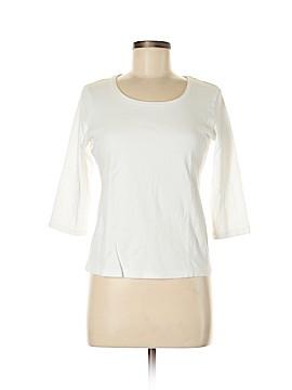 Karen Scott 3/4 Sleeve T-Shirt Size M (Petite)