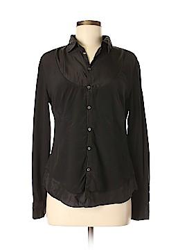Diesel Long Sleeve Silk Top Size S