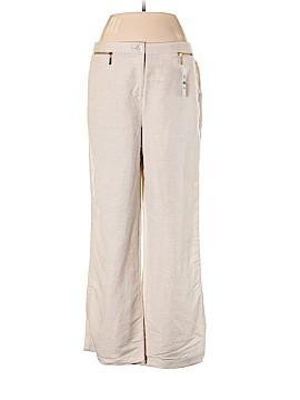JM Collection Linen Pants Size 10 (Petite)