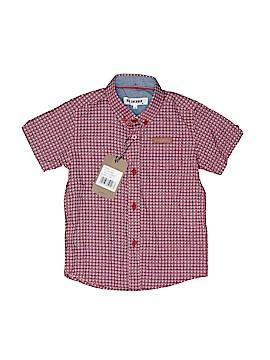Ben Sherman Short Sleeve Button-Down Shirt Size 24 mo