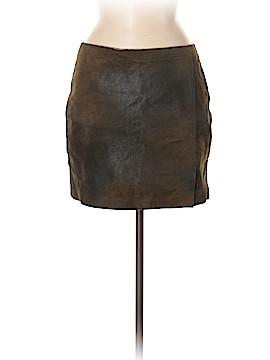 Graham & Spencer Leather Skirt Size M