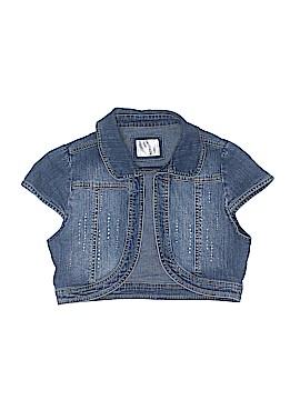Justice Denim Jacket Size 2X-large (Kids)