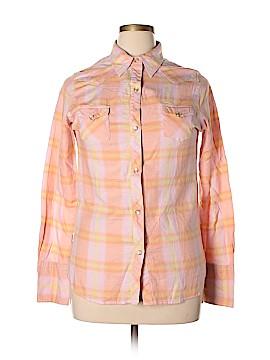 Tin Haul Long Sleeve Button-Down Shirt Size L