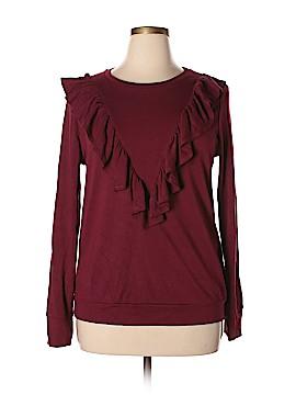 Halogen Sweatshirt Size L
