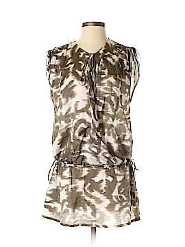 Les Copains Short Sleeve Blouse Size 40 (EU)