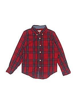 Peek... Long Sleeve Button-Down Shirt Size M (Kids)
