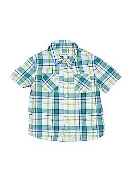 Cherokee Short Sleeve Button-Down Shirt Size 3T