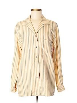 Finity Long Sleeve Silk Top Size 6
