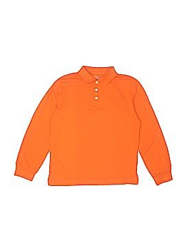 L.L.Bean Long Sleeve Polo Size 8