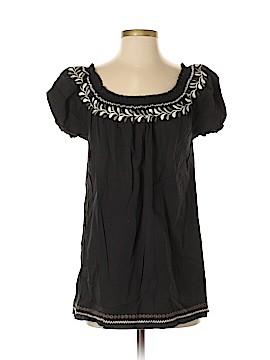 PureDKNY Short Sleeve Blouse Size S