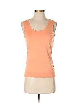 Mainbocher Sleeveless Silk Top Size S