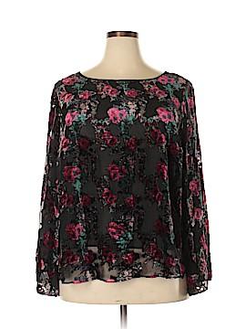 Dalia Long Sleeve Blouse Size 2X (Plus)