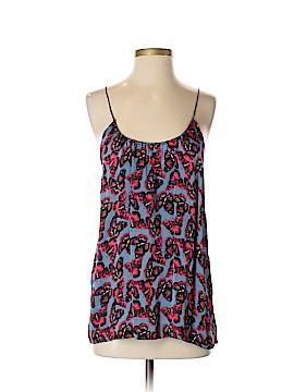 Tucker Sleeveless Silk Top Size Sm - Med