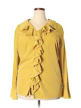 Roaman's Long Sleeve Blouse Size 30 (Plus)