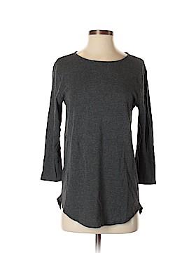 Joan Vass 3/4 Sleeve T-Shirt Size S