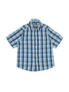 Urban Pipeline Short Sleeve Button-Down Shirt Size 8