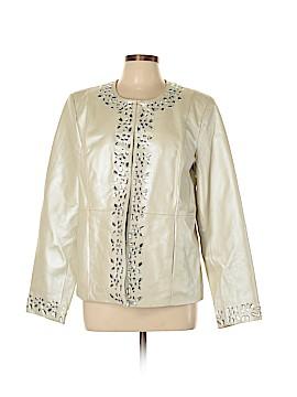 Bradley by Bradley Bayou Leather Jacket Size L