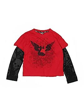 Hybrid Tees Long Sleeve T-Shirt Size S (Youth)
