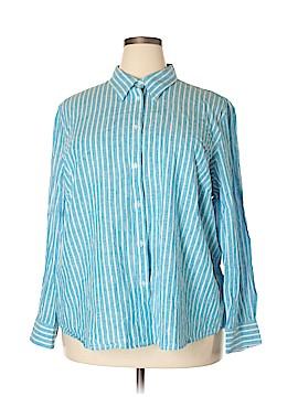 Ralph by Ralph Lauren Long Sleeve Button-Down Shirt Size 3X (Plus)