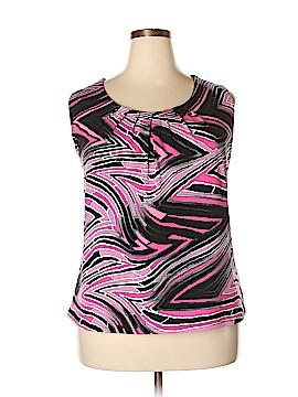 Jones Studio Short Sleeve Top Size 3X (Plus)