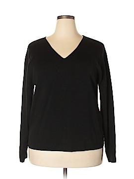 Linda Allard Ellen Tracy Wool Pullover Sweater Size 3X (Plus)