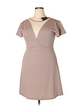 Shop The Trends Casual Dress Size 3X (Plus)