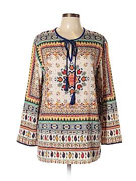 Kyla Seo 3/4 Sleeve Blouse Size L