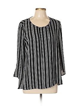 Sami & JO 3/4 Sleeve Blouse Size L