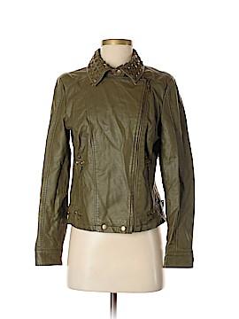 DASH Faux Leather Jacket Size XS
