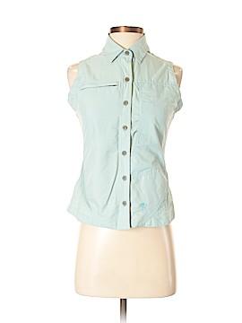 Mountain Hardwear Sleeveless Button-Down Shirt Size 4