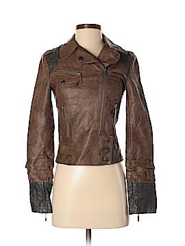 BKE Faux Leather Jacket Size XS