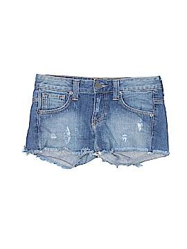 Bebe Denim Shorts 24 Waist