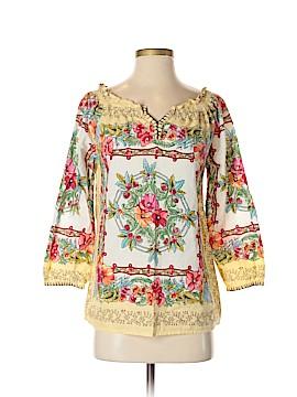 Life Style 3/4 Sleeve Blouse Size S